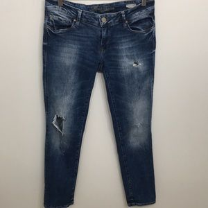 Mavi Jeans Distressed Relax Straight Stretch 28/32